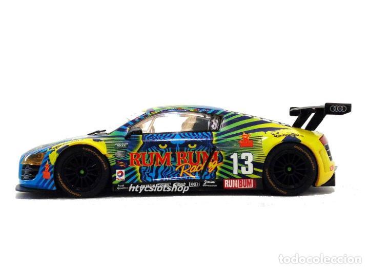 Slot Cars: SUPERSLOT AUDI R8 GT3 #13 BIELA / HAASE / PLUMB / WINKELHOCK DAYTONA 2013 RUM BUM SCALEXTRIC UK 3854 - Foto 6 - 84790692