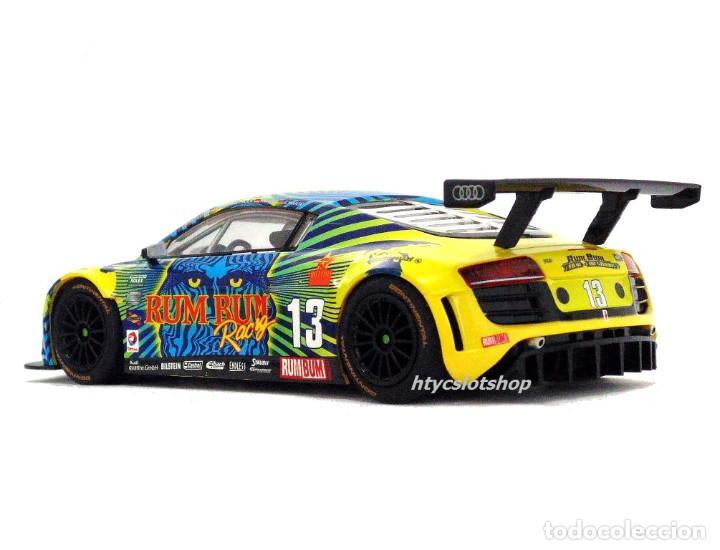 Slot Cars: SUPERSLOT AUDI R8 GT3 #13 BIELA / HAASE / PLUMB / WINKELHOCK DAYTONA 2013 RUM BUM SCALEXTRIC UK 3854 - Foto 7 - 84790692