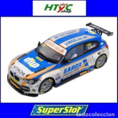 Slot Cars: SUPERSLOT BMW 125 #100 SERIE 1 BTCC 2016 THRUXTON ROB COLLARD SCALEXTRIC UK H3862. Lote 84790996