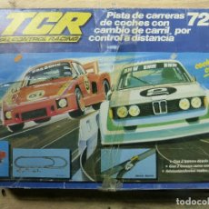 Slot Cars: CIRCUITO SLOT TCR 7215 TOTAL CONTROL RACING. Lote 85349180