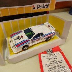 Slot Cars: POLISTIL. LANCIA BETA MARTINI. Lote 86499220
