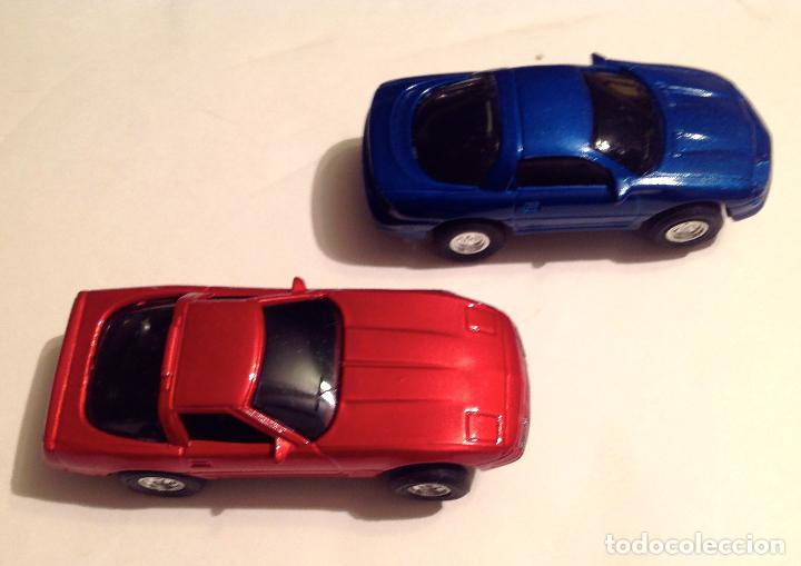 Slot Cars: Scalextric Super Speed Lap Time Loope Completo Medidas 78x38CM Juego Pista Con Dos Coches - Foto 6 - 76618387