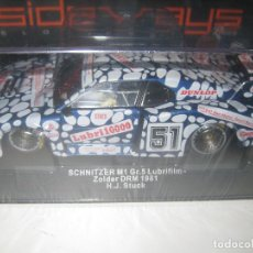 Slot Cars: SCHNITZER M1 GR.5 LUBRIFILM DE SIDEWAYS. Lote 86829020