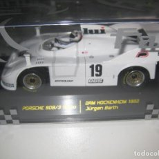 Slot Cars: PORSCHE 908/3 TURBO BLANCO Nº19 DE FALCON SLOT CARS. Lote 120589052