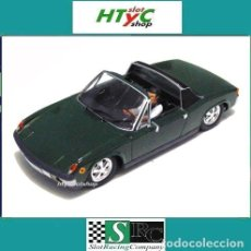Slot Cars: SRC PORSCHE 914/6 GT STREET VERSION IRISH GREEN SLOT RACING COMPANY 02002. Lote 89598540