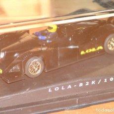 Slot Cars: LOLA B2K/10 DE SPIRIT SHOW CAR NEGRO. Lote 87667560