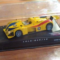 Slot Cars: LOLA B2K/10 DE SPIRIT SHOW CAR 24 HORAS INTERNACIONALES CIUDAD DE ALCORCON 2003. Lote 87668052