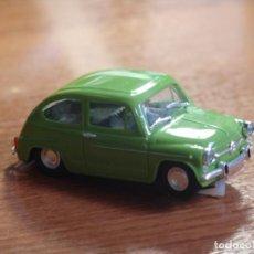 Slot Cars: SEAT 600 VERDE DE REPROTEC. Lote 87668140