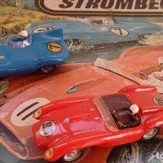 Slot Cars: STROMBECKER-PAYÁ FERRARI TESTAROSSA JAGUAR D. Lote 90632195