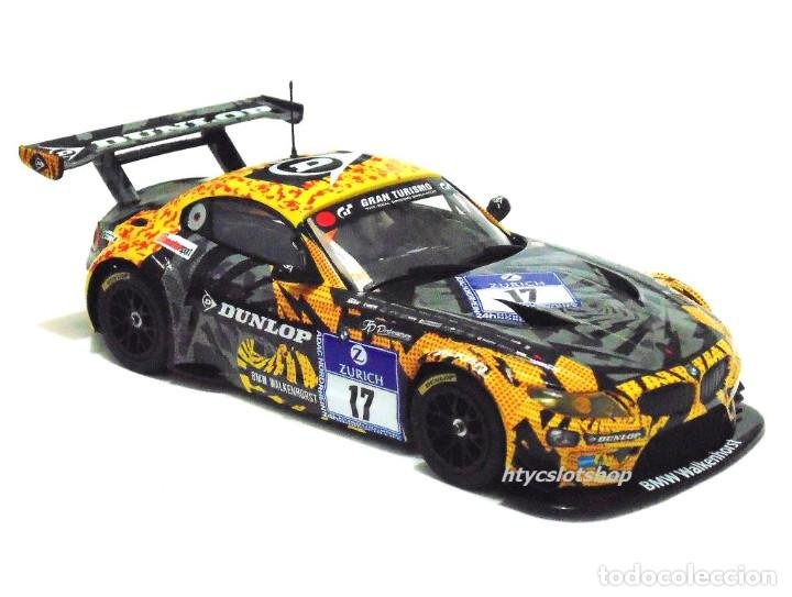 Slot Cars: SUPERSLOT BMW Z4 GT3 #17 24 HS NURBURGRING 2015 CERRUTI / FERNÁNDEZ / KELLWITZ SCALEXTRIC UK H3847 - Foto 3 - 90833780