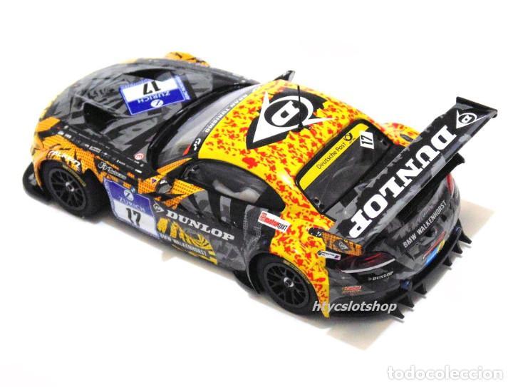 Slot Cars: SUPERSLOT BMW Z4 GT3 #17 24 HS NURBURGRING 2015 CERRUTI / FERNÁNDEZ / KELLWITZ SCALEXTRIC UK H3847 - Foto 5 - 90833780