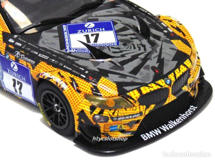 Slot Cars: SUPERSLOT BMW Z4 GT3 #17 24 HS NURBURGRING 2015 CERRUTI / FERNÁNDEZ / KELLWITZ SCALEXTRIC UK H3847 - Foto 9 - 90833780