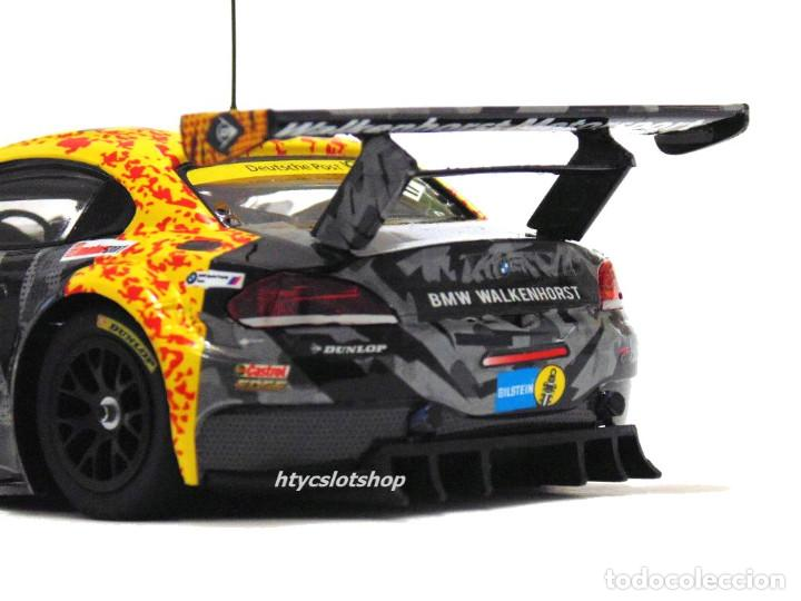 Slot Cars: SUPERSLOT BMW Z4 GT3 #17 24 HS NURBURGRING 2015 CERRUTI / FERNÁNDEZ / KELLWITZ SCALEXTRIC UK H3847 - Foto 10 - 90833780