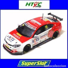 Slot Cars: SUPERSLOT MG6 #66 BTCC OULTON PARK 2016 JOSH COOK SCALEXTRIC UK H3863. Lote 91042065