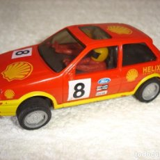Slot Cars: SCALEXTRIC HORNBY HOBBIES LTD: FORD FIESTA SHELL - MADE IN GREAT BRITAIN. Lote 92044615