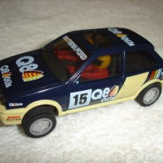 Slot Cars: SCALEXTRIC HORNBY HOBBIES LTD: FORD FIESTA Q8 OILS - MADE IN GREAT BRITAIN. Lote 239825865