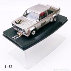 Slot Cars: SCALE CARR BY POLISTIL FIAT 131 ABARTH 5 SALON DEL MODELISMO BARCELONA 1997. Lote 56693672