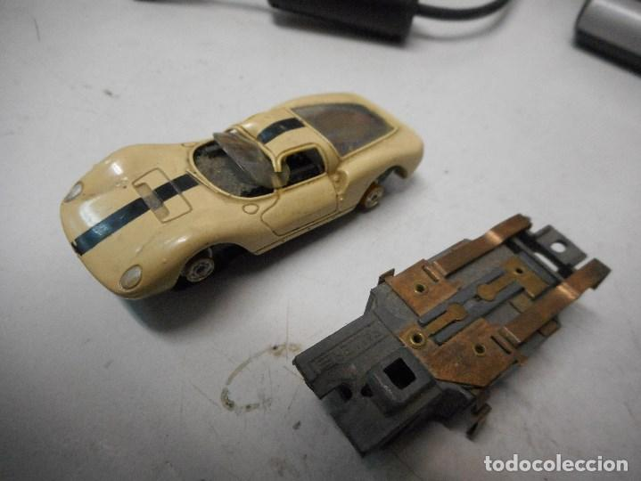 COCHE FALLER SCALEXTRIC ALEMAN COCHE Y OTRO MOTOR (Juguetes - Slot Cars - Magic Cars y Otros)