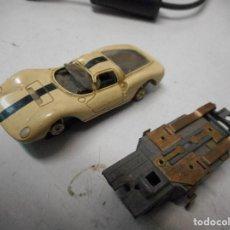 Slot Cars: COCHE FALLER SCALEXTRIC ALEMAN COCHE Y OTRO MOTOR. Lote 93108675