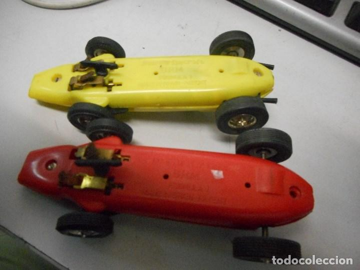 Slot Cars: pareja coche tipo scalextric made in spain brm formula1 - Foto 3 - 93782655