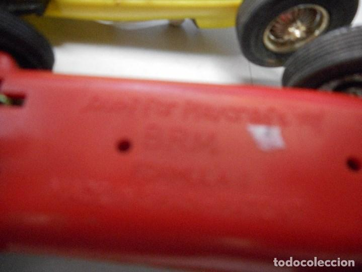 Slot Cars: pareja coche tipo scalextric made in spain brm formula1 - Foto 4 - 93782655