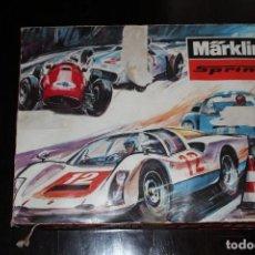 Slot Cars: MARKLIN SPRINT 1409 CAJA Y PISTAS. Lote 93944905