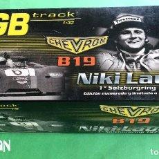 Slot Cars: GB TRACK CHEVRON B19 REF. GB 14 - 1º SALZBURGRING 1971 NIKI LAUDA - ED LIMITADA Y NUMERADA. Lote 94758215
