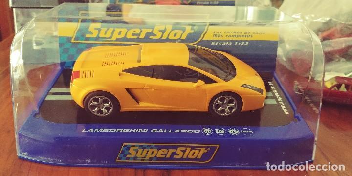 Superslot Lamborghini Gallardo Amarillo Mire Sold At Auction