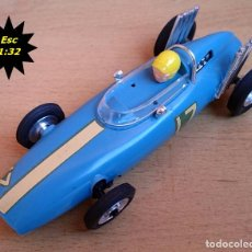 Slot Cars: LINDBERG ROAD RACER ELECTRIC / FORMULA 1 - BRM / MADE IN USA 1965. Lote 93626740