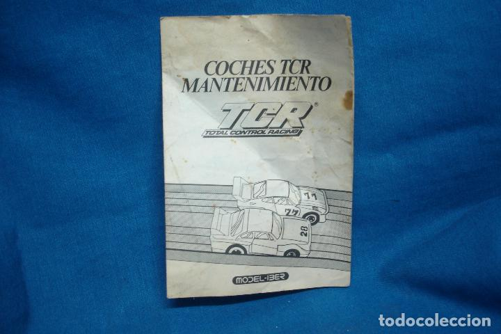 -COCHES TCR MANTENIMIENTO - TCR TOTAL CONTROL RACING - MODEL-IBER 1980 (Juguetes - Slot Cars - Magic Cars y Otros)