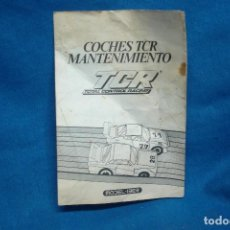 Slot Cars: -COCHES TCR MANTENIMIENTO - TCR TOTAL CONTROL RACING - MODEL-IBER 1980. Lote 96266927