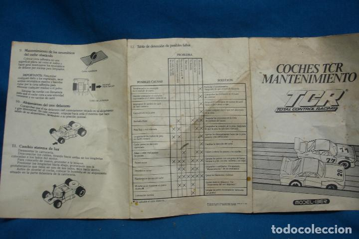 Slot Cars: -COCHES TCR MANTENIMIENTO - TCR TOTAL CONTROL RACING - MODEL-IBER 1980 - Foto 2 - 96266927