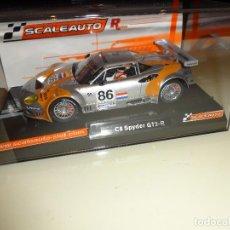 Slot Cars: SCALEAUTO. SPYKER C8 SPYDER. 24H LE MANS 2006. REF. SC-6042R. Lote 96731279