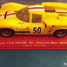 Slot Cars: LOLA T70 MK 3B 6H.WATKIND 1970 EL ESTADO ES NUEVO. Lote 96940315