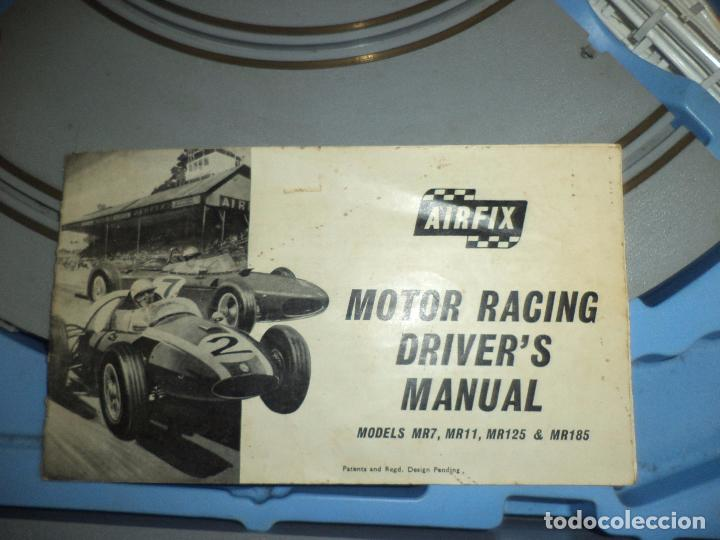 Slot Cars: Pista Slot Airfix Motor Racing Model M.R.125.Mini Cooper 1966 + accesorios.Escala 1/32.Años 60. - Foto 4 - 97076943