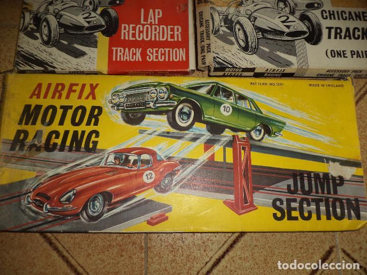 Slot Cars: Pista Slot Airfix Motor Racing Model M.R.125.Mini Cooper 1966 + accesorios.Escala 1/32.Años 60. - Foto 5 - 97076943