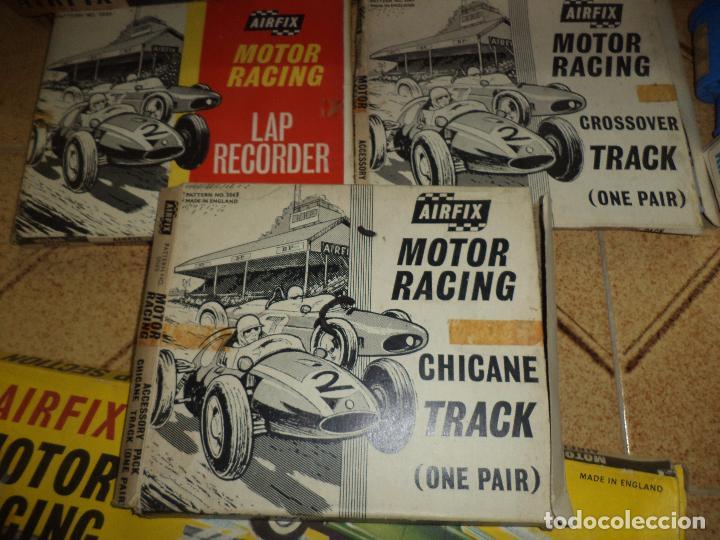 Slot Cars: Pista Slot Airfix Motor Racing Model M.R.125.Mini Cooper 1966 + accesorios.Escala 1/32.Años 60. - Foto 6 - 97076943