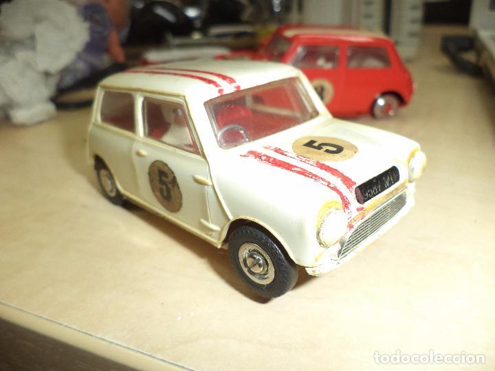 Slot Cars: Pista Slot Airfix Motor Racing Model M.R.125.Mini Cooper 1966 + accesorios.Escala 1/32.Años 60. - Foto 9 - 97076943