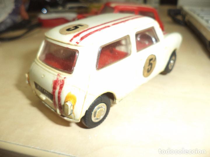 Slot Cars: Pista Slot Airfix Motor Racing Model M.R.125.Mini Cooper 1966 + accesorios.Escala 1/32.Años 60. - Foto 10 - 97076943