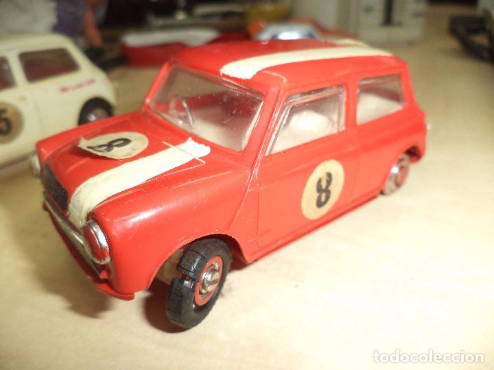 Slot Cars: Pista Slot Airfix Motor Racing Model M.R.125.Mini Cooper 1966 + accesorios.Escala 1/32.Años 60. - Foto 13 - 97076943