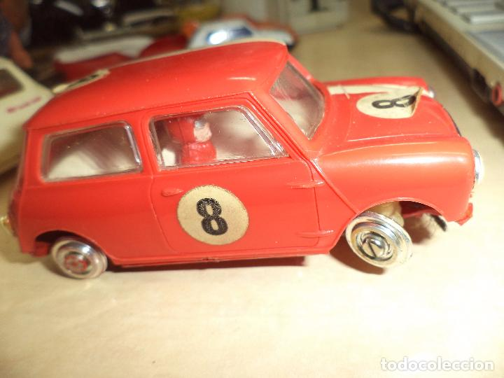 Slot Cars: Pista Slot Airfix Motor Racing Model M.R.125.Mini Cooper 1966 + accesorios.Escala 1/32.Años 60. - Foto 14 - 97076943