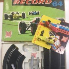 Slot Cars: JOVEF RÉCORD 64 BABY PISTA DE CARRERAS LEER DESCRIPCION. Lote 97795214