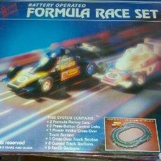 Slot Cars: FORMULA RACE SET SUPER SPEED. Lote 97987868