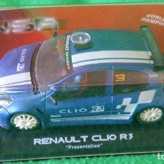 Slot Cars: RENAULT CLIO R3 PRESENTATION BLUE – NSR. Lote 98129599