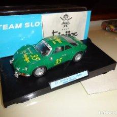 Slot Cars: TEAM SLOT. RENAULT ALPINE A110 TRIPIJOC. 35º ANIVERSARIO. Lote 99949440