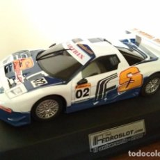 Slot Cars: HONDA NSX CARTRIX II ANIVERSARIO FOROSLOT 2006 COMO NUEVO EN CAJA. Lote 98496595