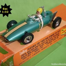 Slot Cars: ÚNICO EN TC LINDBERG ROAD RACER ELECTRIC / FORMULA 1 - BRM / MADE IN USA 1965. Lote 93626660