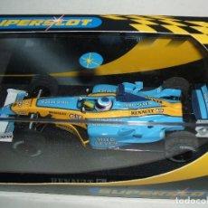 Slot Cars: RENAULT R23 F-1 JARNO TRULLI DE SUPERSLOT REF.-H2397. Lote 99165327