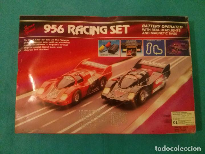 PISTA-CIRCUITO 956 RACING SET...AÑOS 90. (Juguetes - Slot Cars - Magic Cars y Otros)