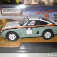 Slot Cars: OFERTA - PORSCHE 959 RAID AFRICA LEGENS GRIS DE SCALEAUTO. Lote 141323849